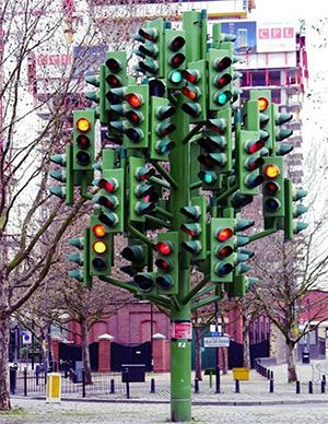 Необычный светофор